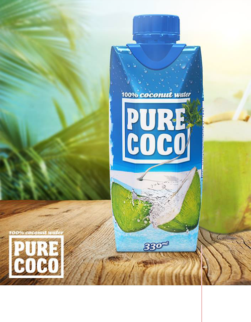 Coconut Water, your body will love it!